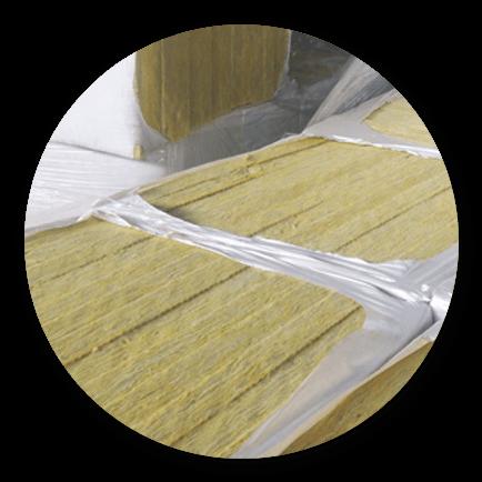 Imagen para la sección de productos con lana de roca Ecoterme
