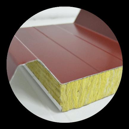 Imagen para la sección de productos con paneles de lana de roca ecoterme