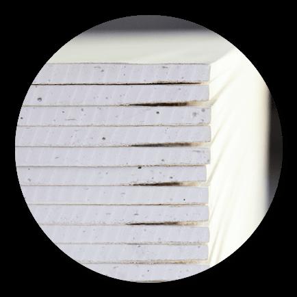 Imagen para la sección de productos con placas de yeso laminado