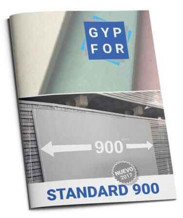 Tarifas de placas de yeso laminado Gypfor.