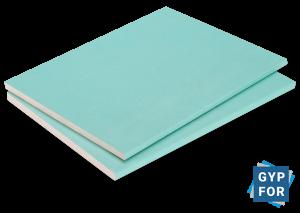 placas de yeso lamiando impermeables al agua e hidrófugas de Gypfor