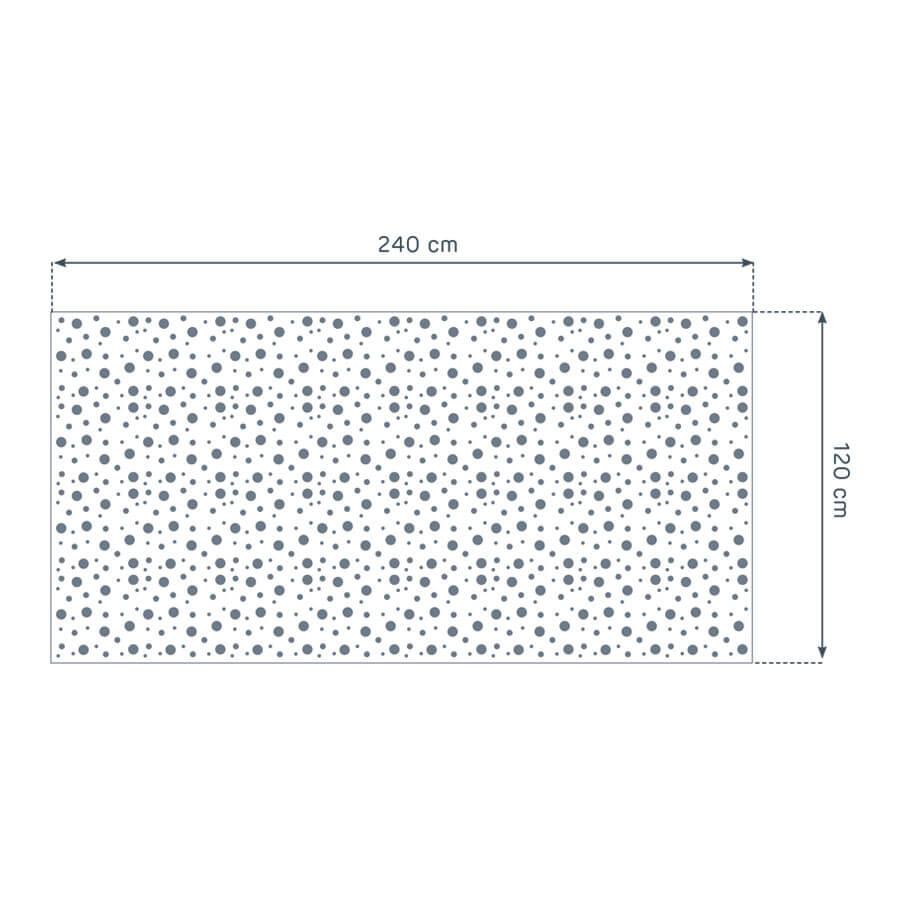 dimensiones de la placa Prégybel A122053 N1 de Siniat