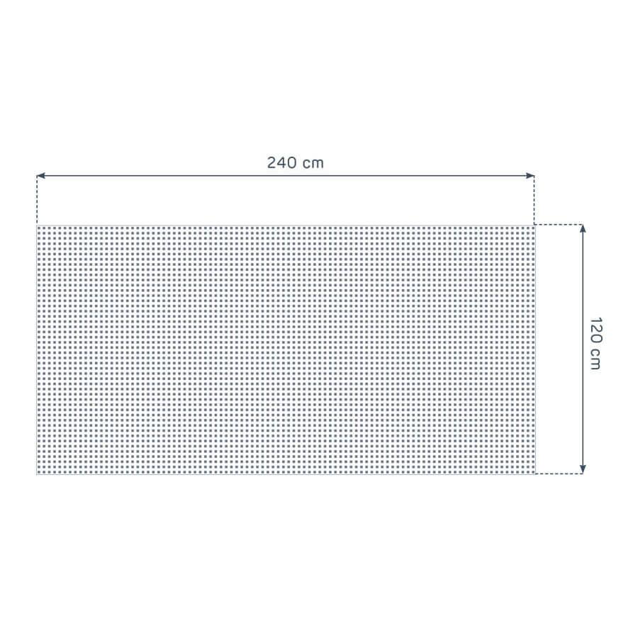 dimensiones de la placa Prégybel C12N1 de Siniat