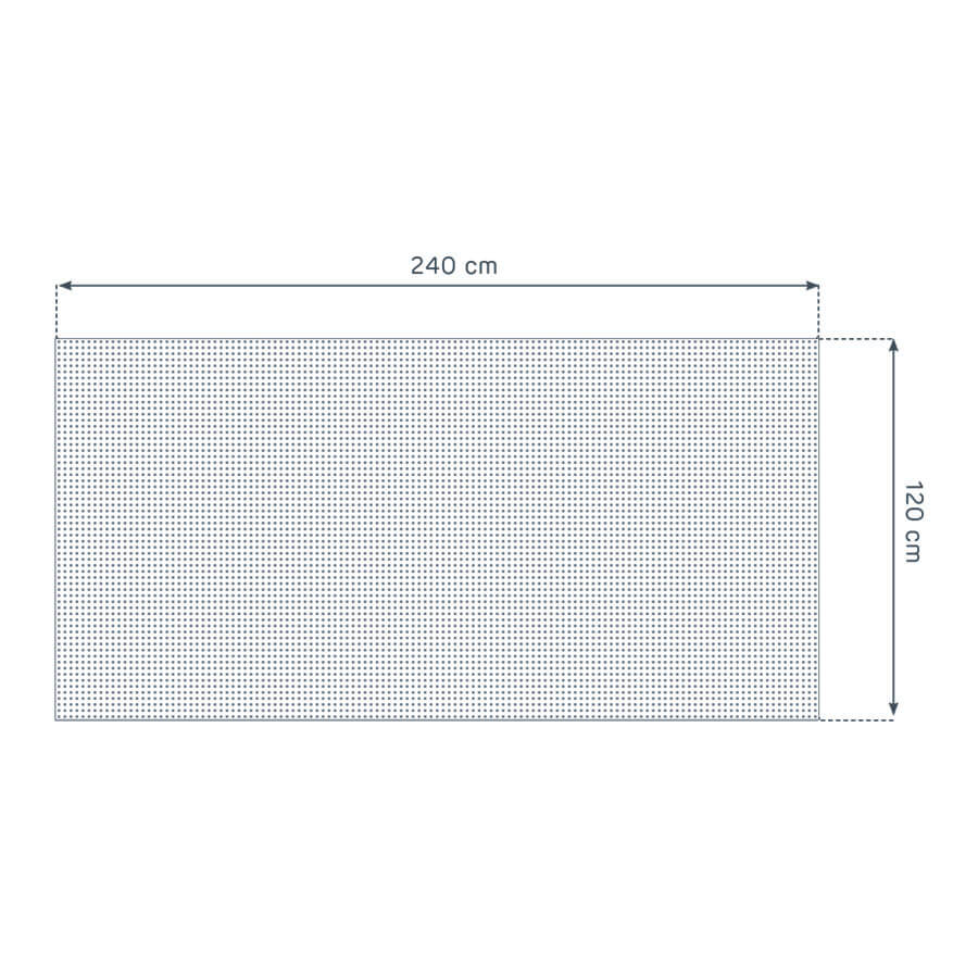 dimensiones de la placa Prégybel C8N1 de Siniat