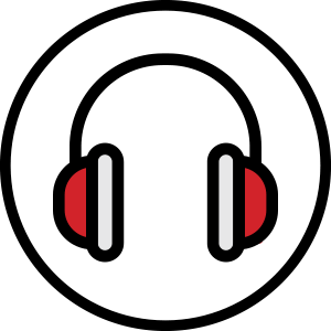 icono color aislamiento ruido para URSA