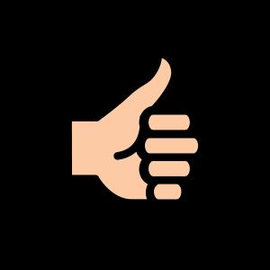 icono color mano para URSA
