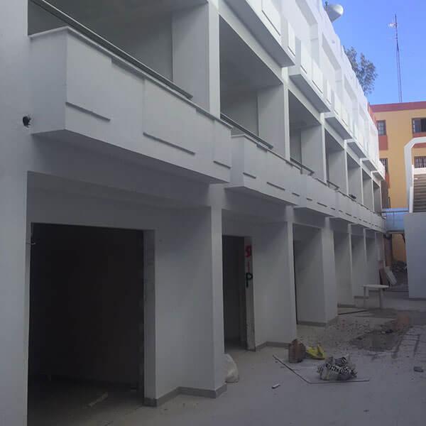 vista general del hotel cactus garden en fuerteventura