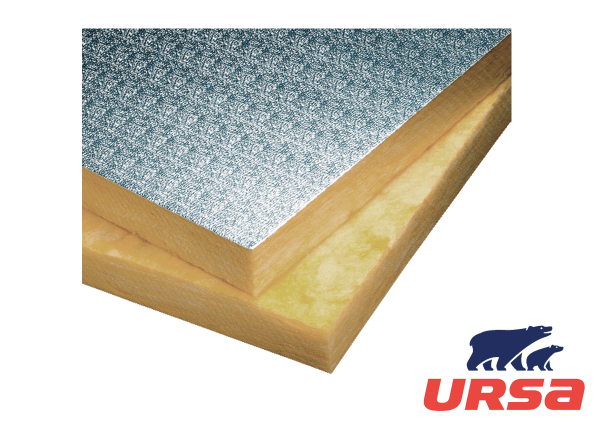 URSA GLASSWOOL Panel Aluminio gofrado P2363